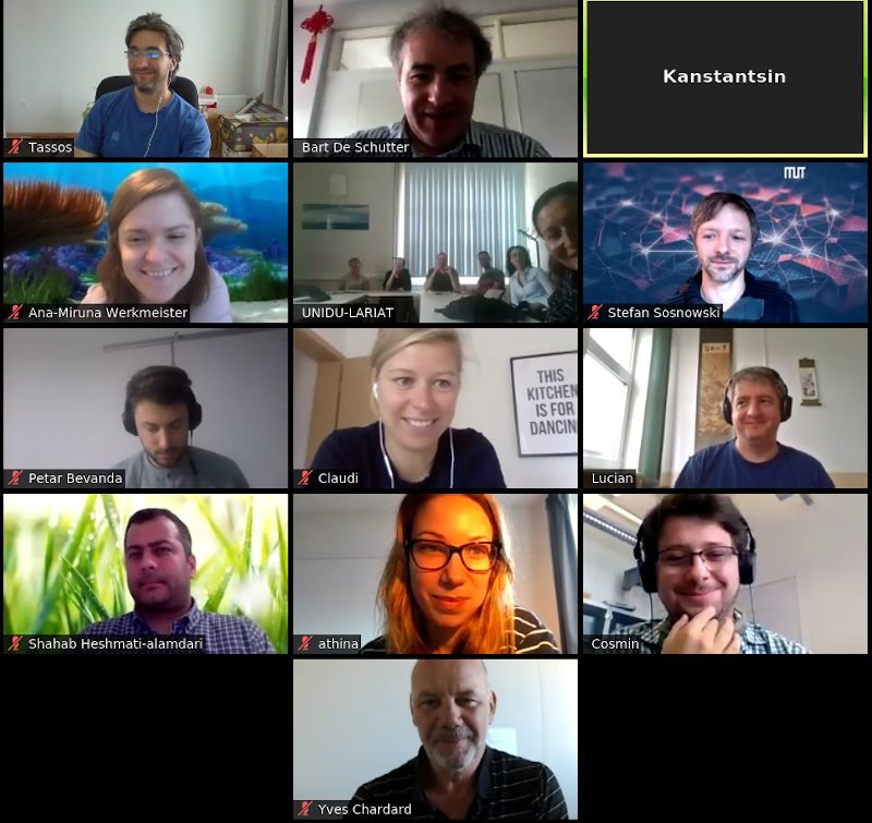 SeaClear partners online meeting